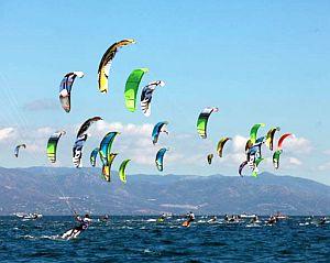 Bucerias Nayarit kite surfing