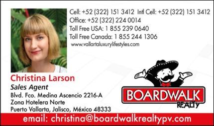 Christina Larson Boardwalk Realty Puerto Vallarta
